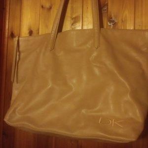 Donna Karan Soft Leather Shoulder Bag